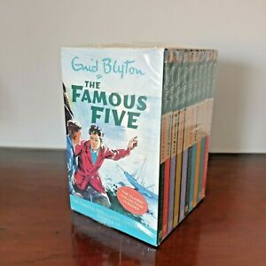 New Enid Blyton The Famous Five - Classic Series 1 - 10 Books RRP £69
