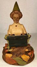 Friday-R 1990~Tom Clark Gnome~Cairn Studio Item #5104~Ed #31~Story~Hand Signed