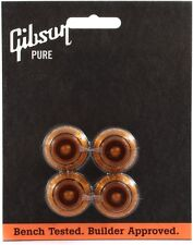 Genuine Gibson Top Hat Knobs - PRHK-030 - Vintage Amber - Les Paul, SG, ES-335