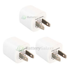 3 USB Travel Battery Wall Charger Mini for Apple iPhone / Android Cell Phone