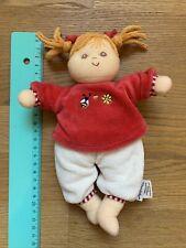Sterntaler Puppe Baby Spielzeug Rassel Klapper 22cm Top Zustand, Unbespielt