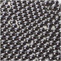 200X Sling 4.5mm diameter Shot Silver Stainless Steel Ball Bearing for Catapult