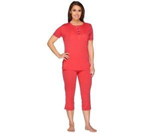 Cosabella Dream Women's Pajama Set Pima Cotton Pink Size S