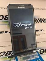 TELEFONO SAMSUNG GALAXY NOTE 2 N7105 4G LTE 16GB GRIS TITANIO LIBRE GRADO A
