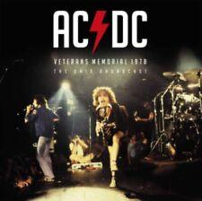 Ac/dc - Veterans Memorial 1978 (red Vinyl) NEW LP