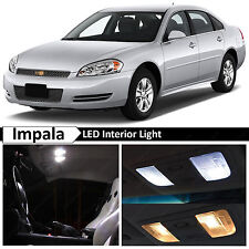 18x White LED Lights Interior Package Kit for 2006-2013 Chevrolet Impala
