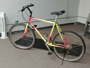 Kuwahara Impulse Multi-Colored Neon Bike (1 Flat Tire - Needs Fixing)