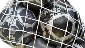 10 Fußballe-Bälle-Voetballs - Größe 5 maat 5 plus Ballnetz - Gesamtwert 100,- €
