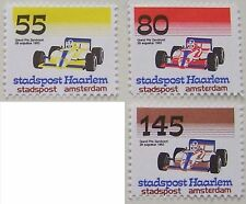 Stadspost Haarlem/Amsterdam 1983 - 3x Grand Prix autosport F1 Zandvoort