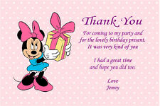 Mickey Mouse Thank You Hand Made Cards Ebay