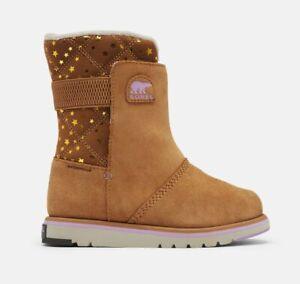 Sorel Youth (Girls) Rylee Winter boots size EU37 / UK4 waterproof, Lined & NEW