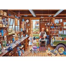 Gibsons G6218 Made by Grandpa Jigsaw Puzzle 1000-piece