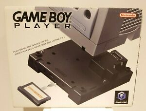 Nintendo, Gameboy Player, For Gamecube With Disc, Fully Boxed, Original Owner