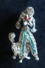 Animals Diamante Vintage Costume Brooches/Pins