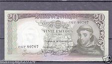 Portugal St. Anthony 20$00 26-Maio-64 Vf +