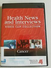 Health News and Interviews CANCER 37378 K FILMS MEDIA GROUP CAMBRIDGE DVD