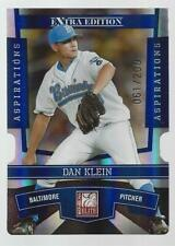 Dan Klein 2010 Donruss Elite Extra Edition Aspirations DieCut Card #35