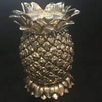 Homeworx by Harry Slatkin Pineapple Pillar Candle Holder (Minus Hurricane Lamp)