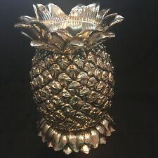 Homeworx by Harry Slatkin Pineapple Pillar Candle Holder (Minus Hurricane Lamp)