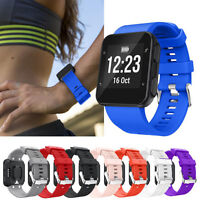 Silicone Replacement Band Sports Bracelet Strap For Garmin Forerunner 35 Watch