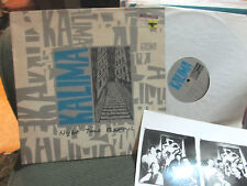 KALIMA Night Time Shadows UK FACTORY LP 1986 Fact155 A Certain Ratio w/photo OOP