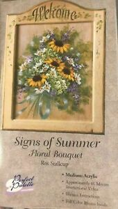 Ros Stallcup Floral Technique Signs Of Summer VHS) Instructional Video