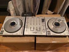SL-DZ1200 Technics CD turntables (2) set and 1 mixer technics SHMZ1200S DJ mixer