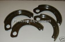 """830537M92 38A71 Set of 4 Brake Shoes for Massey Ferguson Tractor To20 To30 11"""""""