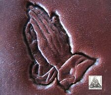 Craftool Co. USA Praying Hands Religious Leather Stamp Tool 8331