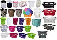 Laundry Bag,Basket,Hamper,Bin Linen Plastic Laundry Supplies Home Office New