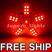 ~2x 1156 RED 41-SMD SPIDERLITE INDICATOR LED LIGHT BULB