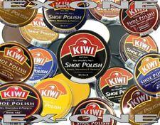 KIWI SHOE POLISH KIWI LEATHER CARE SHOES BOOTS SHINES RENEWS WORLD FAMOUS BRAND
