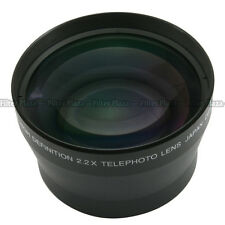 72mm 2.2X Magnification Telephoto Tele Converter Lens for Digital Camera 2.2X 72
