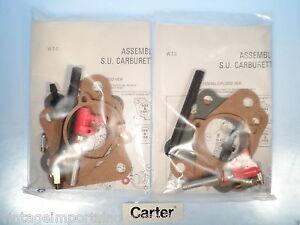 Carburetor Repair Kits Fits Austin Healey 3000 & Jaguar 2.4  (QTY 2)  SU-754