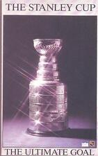 "The Stanley Cup ""The Ultimate Goal"" Original Starline Poster OOP"