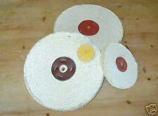 "4"" x 1"" Sisal polishing mop for alloy, metals etc."