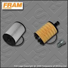 SERVICE KIT VW GOLF MK5 (1K) 2.0 SDI 8V BDK FRAM OIL FUEL FILTERS (2006-2009)