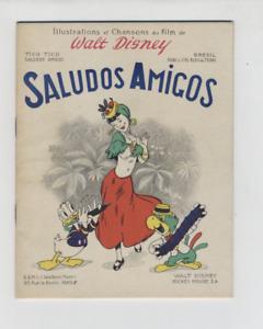 (MC1/B) Illustrations et chansons Walt Disney Saludos amigos / SEMI 1947