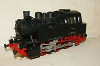G scale 45mm EXCELLENT Piko 0-6-0 Steam Loco Black Lights GOOD RUNNER (like LGB)
