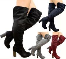 Scarpe da donna stivali sopra il ginocchio senza marca