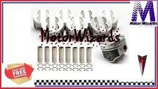 Pontiac 400 6.6 SPEED PRO L2262F30 Forged Piston Set 8-PACK Flat Top 4VR .030
