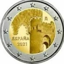 2 Euro Gedenkmünze Spanien 2021 UNC Toledo