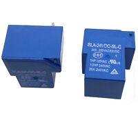 US Stock 2pcs T90 Coil Relay 24VDC 30A 250VAC 30VDC 6 Pin 1NO 1NC SLA-24VDC-SL-C