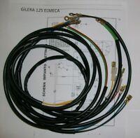 IMPIANTO ELETTRICO ELECTRICAL WIRING MOTO GILERA 125 ELMECA CON SCHEMA ELETTRICO