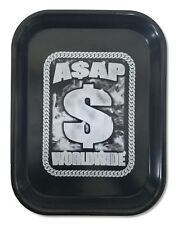 ASAP Worldwide Metal Black Rolling Tray New Official Rocky Ferg A.S.A.P.