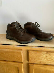 CABELA'S BROWN LEATHER BOOTS SIZE 10 1/2