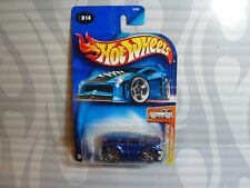 2004 HOT WHEELS first editions #014 = BLINGS CADILLAC ESCALADE = BLUE  ,0714