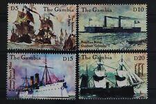 Gambia, Schiffe, MiNr. 3890-3893, postfrisch / MNH - 627711