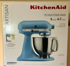 New and sealed KitchenAid Artisan 5 Qt 10-Spd Stand Mixer Velvet Blue