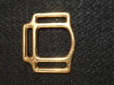 "Halter Square, 3 Way Halter - 1 1/8"" - Solid Brass -16 pieces (B134)"